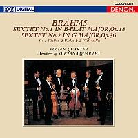 コチアン四重奏団『UHQCD DENON Classics BEST ブラームス:弦楽六重奏曲第1番&第2番』