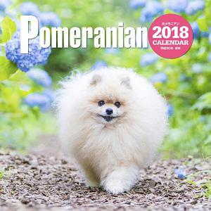 大判カレンダー ポメラニアン 2018