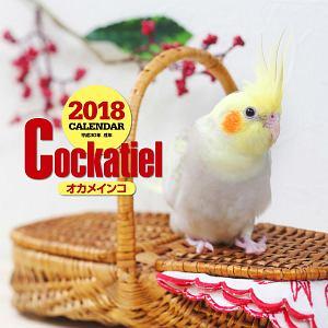 大判カレンダー オカメインコ 2018
