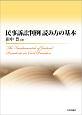 民事訴訟判例 読み方の基本