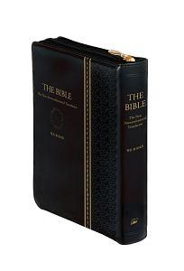 THE BIBLE 聖書 新共同訳 NI65ZTI黒 ジッパー・サムインデックスつき