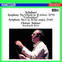 スウィトナー(オトマール)『UHQCD DENON Classics BEST シューベルト:交響曲第7番(第8番)≪未完成≫&第5番』