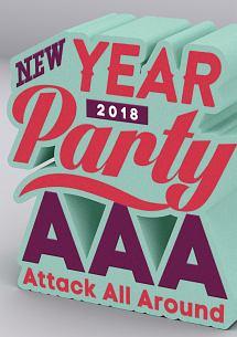 コーリー・モンテース『AAA NEW YEAR PARTY 2018』
