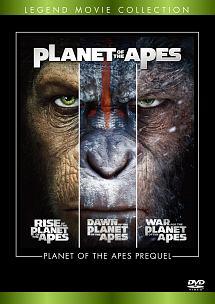 猿の惑星 トリロジーBOX<4K ULTRA HD+3D+2Dブルーレイ>