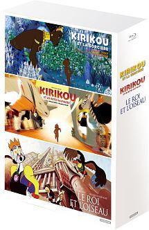 「キリクと魔女」「キリクと魔女2」「王と鳥」フランス・アニメーション