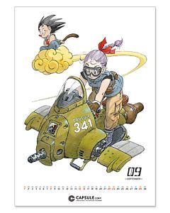 『『DRAGON BALL』コミックカレンダー 2019』鳥山明