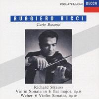 リッチ(ルッジェーロ)『R.シュトラウス/vnソナタ』