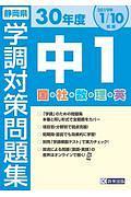 『静岡県 学調対策問題集 中1 国・社・数・理・英 平成30年』陳敏儀