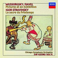 ムソルグスキー/ラヴェル:≪展覧会の絵≫ ストラヴィンスキー:≪春の祭典≫