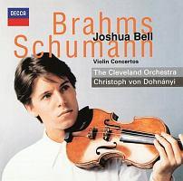 ベル(ジョシュア)『ブラームス&シューマン:ヴァイオリン協奏曲』