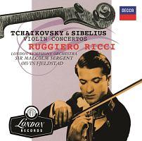 リッチ(ルッジェーロ)『チャイコフスキー&シベリウス:ヴァイオリン協奏曲』