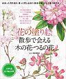 花の塗り絵 散歩で会える木の花・つるの花