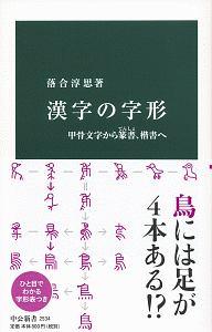 『漢字の字形 甲骨文字から篆書、楷書へ』坪内隆彦