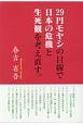 29円モヤシの目線で日本の危機と生死観を考え直す。
