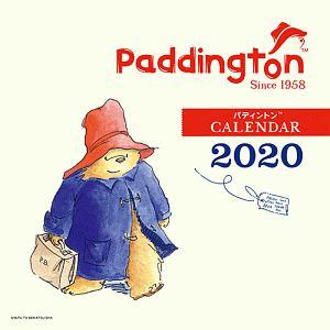 パディントン ベア 壁かけカレンダー 2020