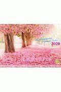 世界一美しい花風景を散歩するカレンダー 2020