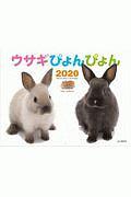 ウサギぴょんぴょん カレンダー 2020