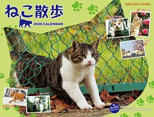 中山祥代 ねこ散歩カレンダー 2020