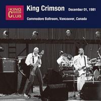 コレクターズ・クラブ 1981年12月1日 コモドア・ボールルーム、バンクーバー、カナダ