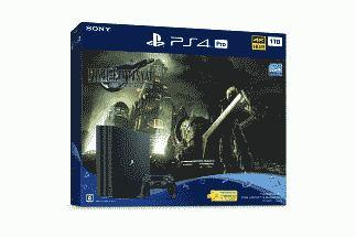 PlayStation 4 Pro FINAL FANTASY VII REMAKE Pack(CUHJ10036)